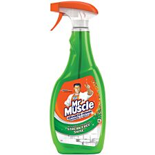 Mr Muscle Advanced Power Window & Glass Spray - 750ml