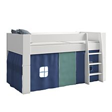 Steens For Kids Tent for Mid Sleeper Bed - Blue