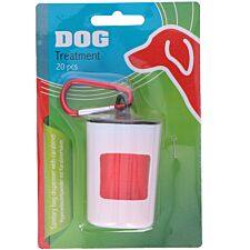 Edco Dog Poop Bags Dispenser with Bags