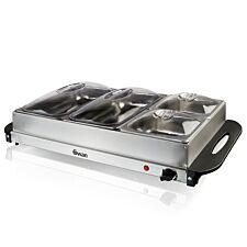 Swan SBS76 300W Buffet Server - Stainless Steel