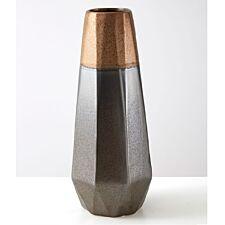 Premier Housewares Jet Metallic Vase - Large