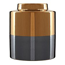 Premier Housewares Stellar Metallic Vase - Small