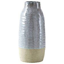 Premier Housewares Caldera Grey Vase - Large