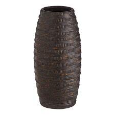 Premier Housewares Galena Ceramic Vase Metallic - Small