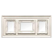 "Premier Housewares Multi Frame 3 Photo Cream Plastic Vintage Style Frame - 1 of 5 x 7"", 2 of 4 x 6"""