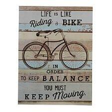 Premier Housewares Bike Wall Plaque
