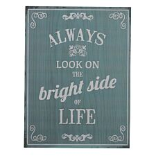 Premier Housewares Bright Side Wall Plaque
