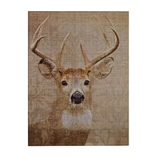 Premier Housewares Wall Plaque Stag Damask