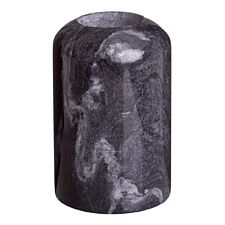 Premier Housewares Lamonte Candle Holder Small Tealight - Black Marble