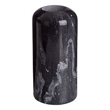 Premier Housewares Lamonte Candle Holder Large Tealight - Black Marble