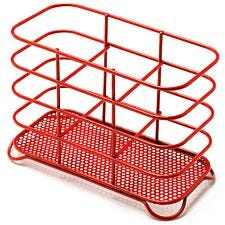 Addis Wire Cutlery Holder - Red