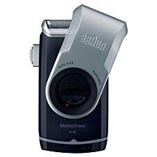 Braun BRAM90 PocketGo M90 MobileShave Portable Shaver - Black / Silver