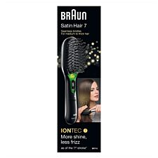 Braun BRABR710 Satin Hair 7 IONTEC Brush – Black