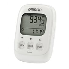 OMRON OMRHJ325W Walking Style IV Pedometer - White