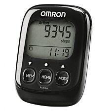 OMRON OMRHJ325B Walking Style IV Pedometer - Black