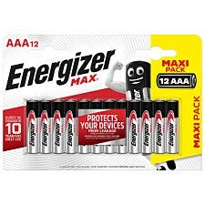 Energizer Max AAA Battery 12 Pack