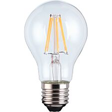 TCP Smart WiFi Dimmable Warm White Filament LED Edison Screw 60W Light Bulb - No Hub Required