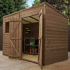 Mercia Pressure Treated Pent Shed - 10' x 6'