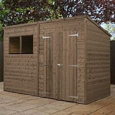Mercia Pressure Treated Pent Shed - 10' x 8'
