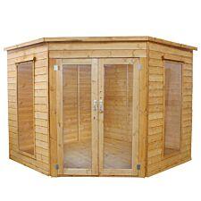 Mercia Premium Corner Summerhouse - 8' x 8'
