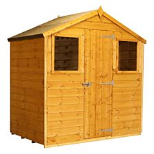 Mercia Shiplap Apex Shed - 4' x 6'