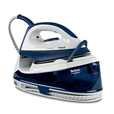Tefal SV6040 Fasteo 2200W Steam Generator Iron – Blue & White