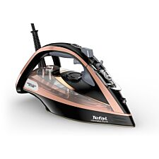 Tefal FV9845 Ultimate Pure 3100W Steam Iron – Black & Rose Gold