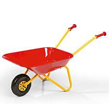 Kid's Metal Wheelbarrow - Red