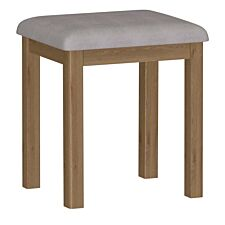 Rosewell Natural Oak Dressing Table Stool