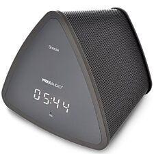 MIXX Audio S3 Portable Bluetooth Speaker & Digital Clock - Black