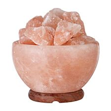 Premier Housewares Bowl Salt Lamp