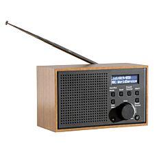 Daewoo Small Wooden Dab Radio