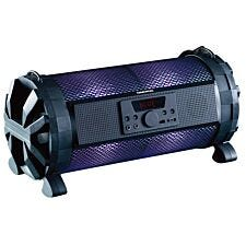 Daewoo App Controlled Led Colour Changing Light Up Rechargeable Bluetooth Bazooka Speaker
