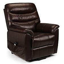 Julian Bowen Pullman Leather Rise & Recline Chair - Dual Motor