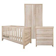 Tutti Bambini Modena 3 Piece Room Set – Oak