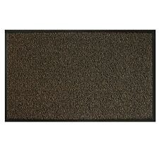 JVL 120x170cm Heavy Duty Commodore Doormat - Brown/Black