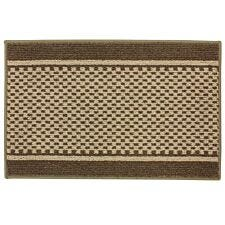 JVL 50x80cm Bologna Entrance Doormat - Brown/Beige