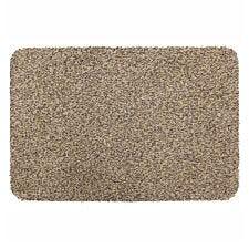 JVL 50x75cm Tanami Barrier Doormat - Beige