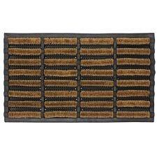 JVL 45x75cm Nimbus Rubber Coir Tuffscrape Doormat