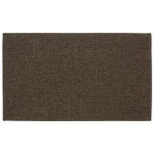JVL 57x100cm Braga Machine Washable Door Mat - Brown