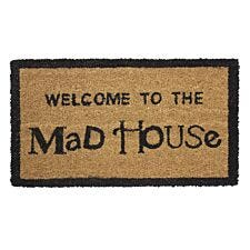 JVL 'Madhouse' Entrance Doormat - 33.5x60cm
