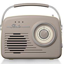 Akai AM/FM Vintage Radio - Taupe