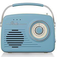Akai AM/FM Vintage Radio - Blue