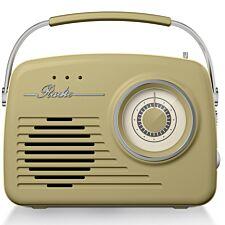 Akai AM/FM Vintage Radio - Sage Green