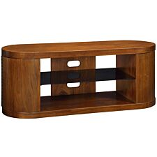 Jual Florence Curve Walnut TV Cabinet