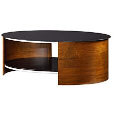 Jual San Marino Walnut Oval Coffee Table