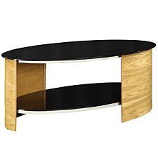 Jual San Marino Oak Oval Coffee Table