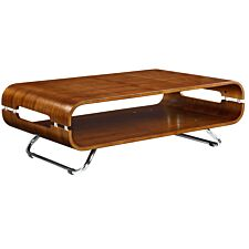 Jual San Marino Curve Walnut Coffee Table