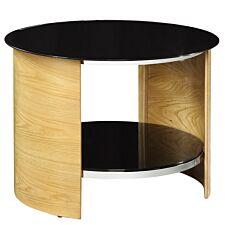 Jual San Marino Oak Round Lamp Table