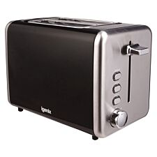 Igenix IG3000B 2-Slice Stainless Steel Toaster - Black